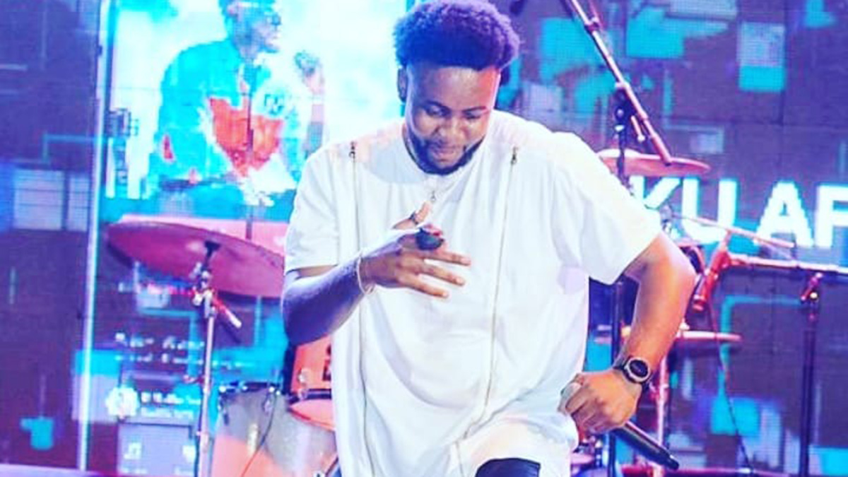 Kweku Afro thrills patrons with maiden performance of own songs