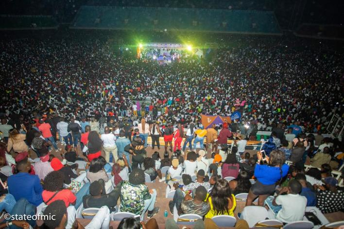 Jizzle sells out first album concert with 30,000 crowd