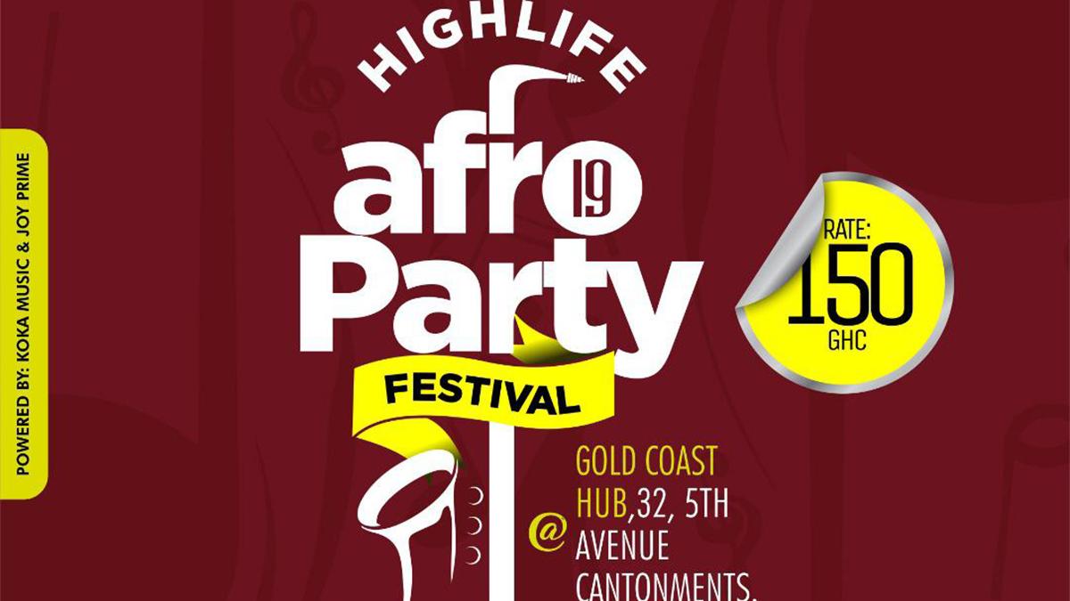 Amakye Dede, Kofi Kinaata, 37 other stars billed for 8-day Highlife Afro-Party Festival