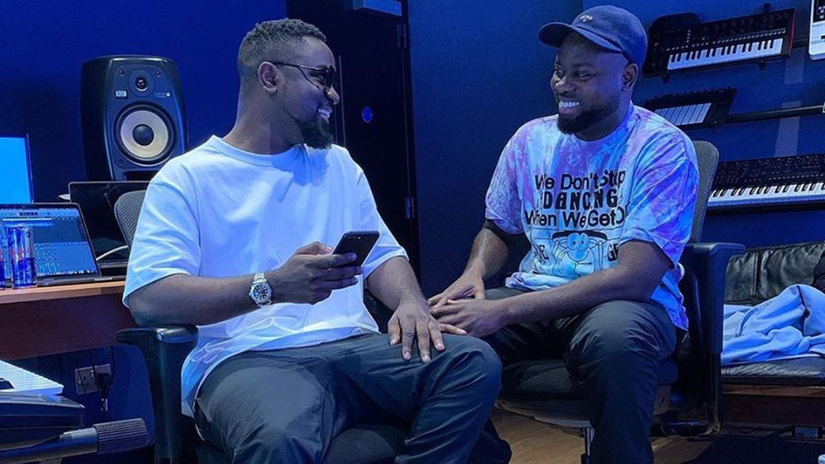 Sarkodie records with MOG, Possigee in UK's Redbull studio; releases teaser