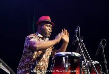 Photo of Nii Afla Sackey; the impeccable drummer