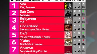 Photo of 2020 Week 16: Ghana Music Top 10 Countdown