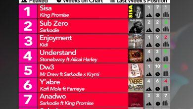 Photo of 2020 Week 16: Ghana Music Top 10 Countdown