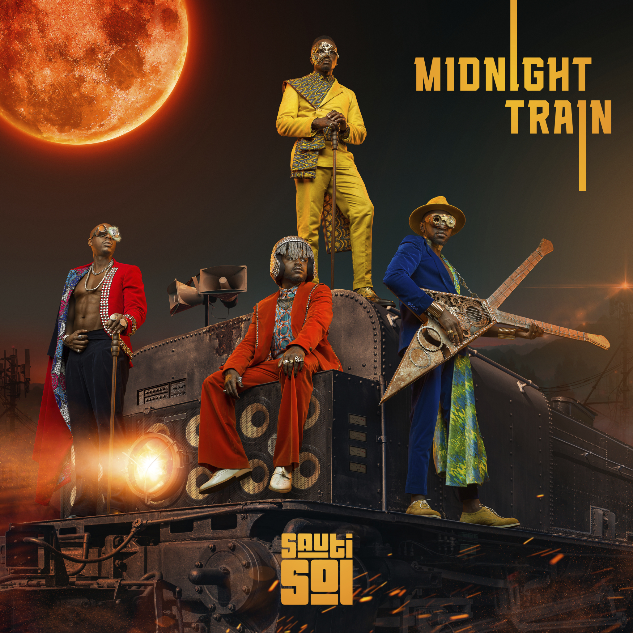 Sauti Sol to release their first major-label record, Midnight ...