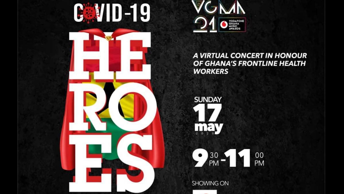Ghana Music Awards Foundation to hold virtual concert