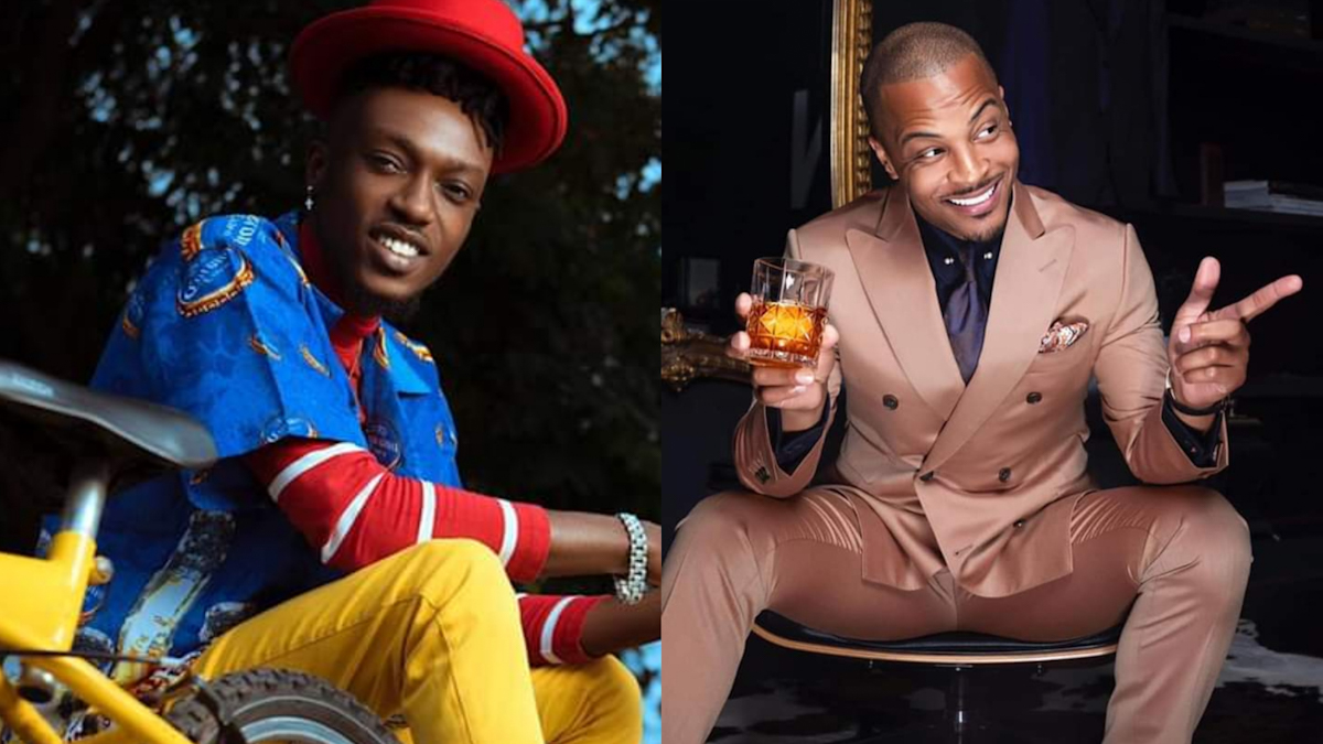 Opanka spends birthday with Ace US rapper T.I on IG Live