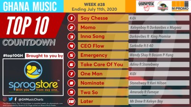 Photo of 2020 Week 28: Ghana Music Top 10 Countdown