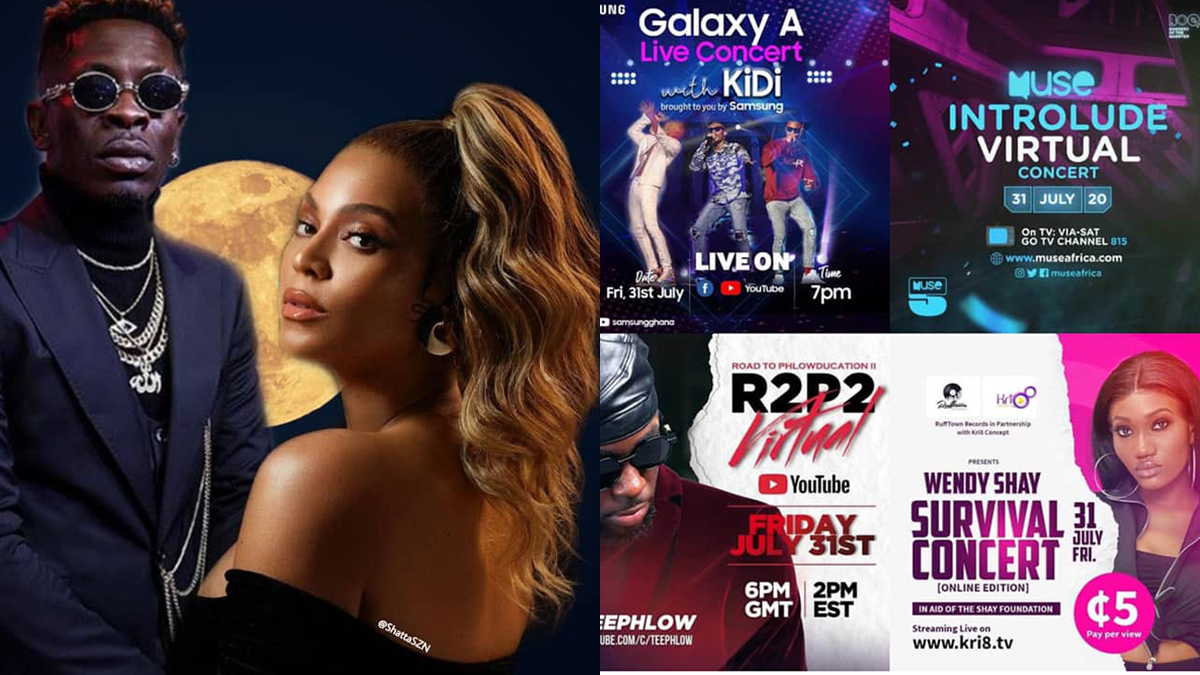 Ghana Music on steroids this Friday with these 5 major events!