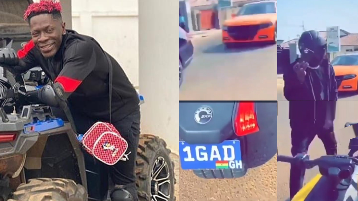 Stonebwoy, Shatta Wale setting trends with trikes & quad bikes?
