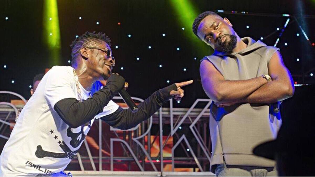 Sarkodie vibes with Shatta Wale; set to host virtual concert soon!