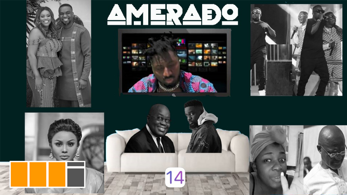Amerado updates the world with Yeete Nsem ep 14