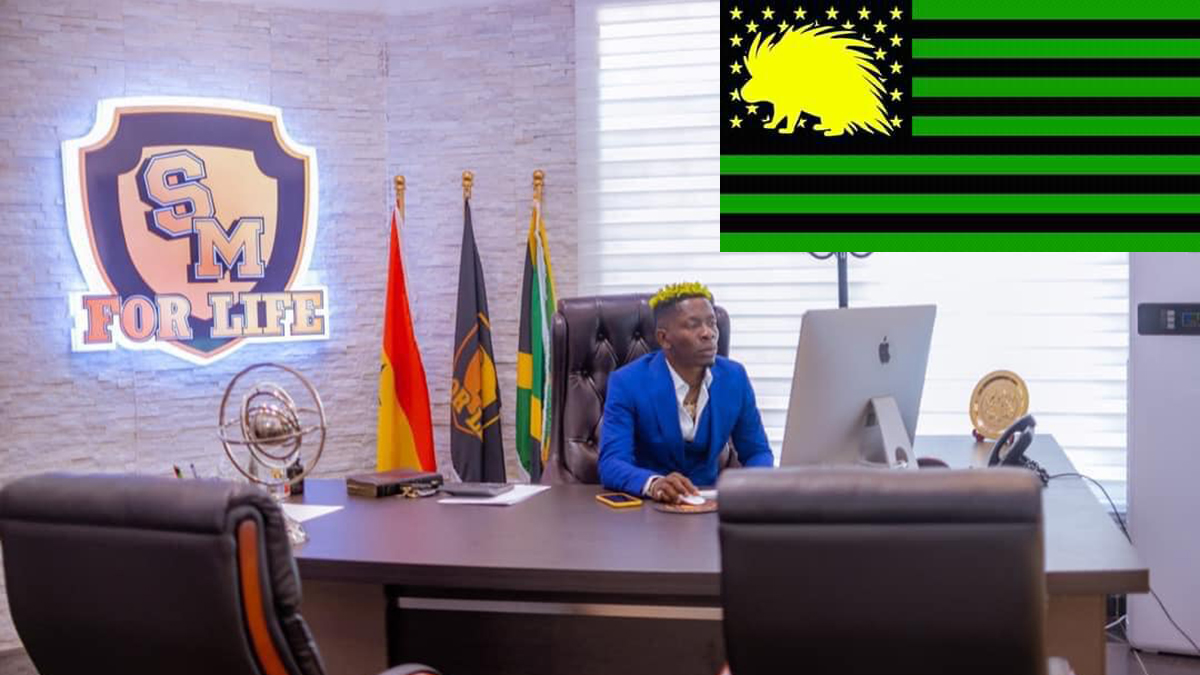 Shatta Wale blesses Kumerica with a national anthem!