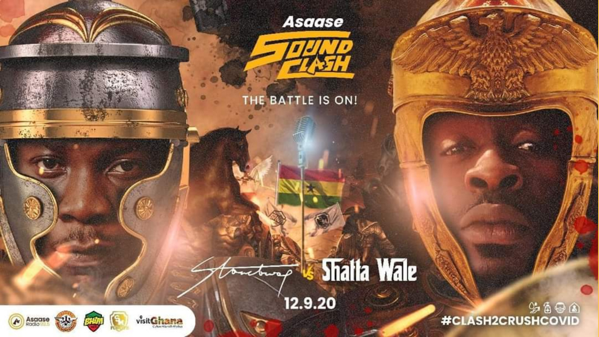 Asaase Sound clash Shatta Wale vs Stonebwoy
