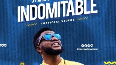 Jimmy D Psalmist glorifies God in Indomitable