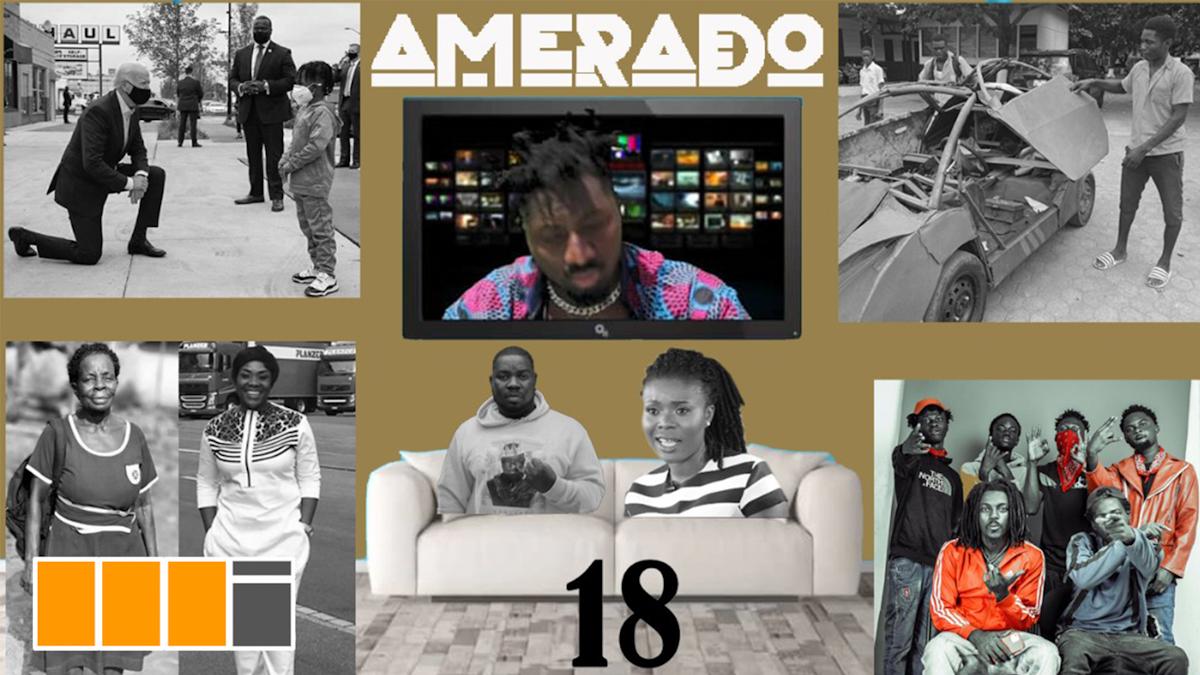 Asakaa Boys, Sore feature in Amerado's Yeete Nsem EP. 18