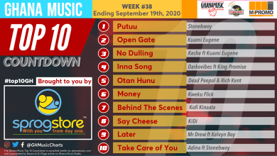 2020 Week 38: Ghana Music Top 10 Countdown