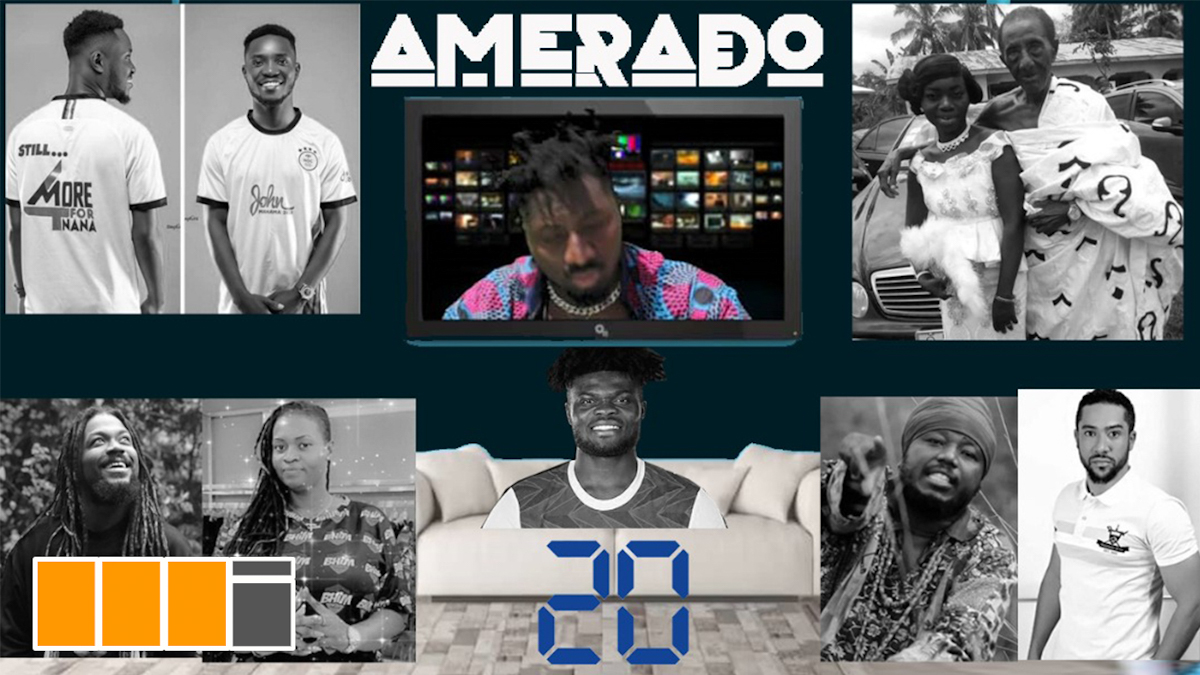 Thomas Partey, Blakk Rasta feature on Amerado Yeete Nsem EP. 20