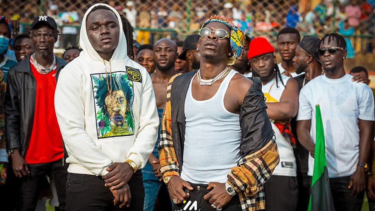 Have you seen Phrimpong's eulogy to Shatta Wale yet?