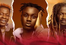 "Larruso unites Shatta Wale & Samini on ""Gi Dem Remix""; Stonebwoy reacts"