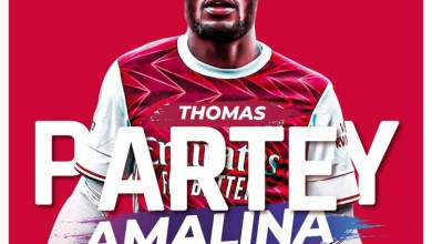 Thomas Partey by Amalina