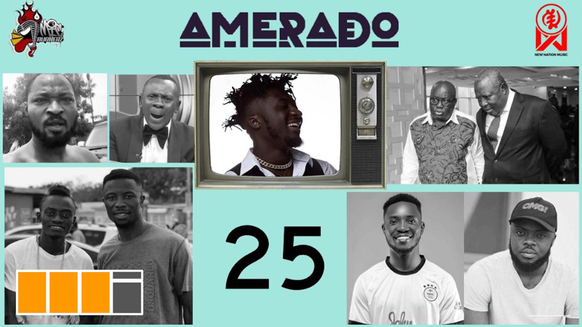 Amerado hosts Yeete Nsem EP. 25 with Bogo Blay & Sherry Boss