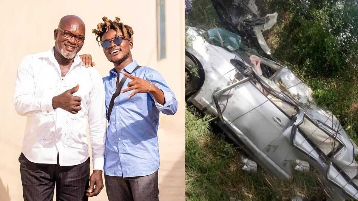 Confirmed! Quamina MP loses dad in gory accident