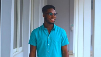 Ayadze! Derrick Prince commends God in latest visuals