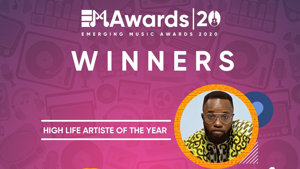 Abochi, Tefflon, Jayana, others win big at Emerging Music Awards 2020; see full list