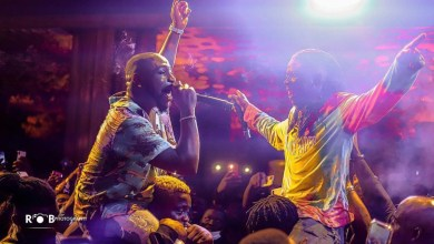Stonebwoy deserves an award for hosting Davido's dramatic weekend!