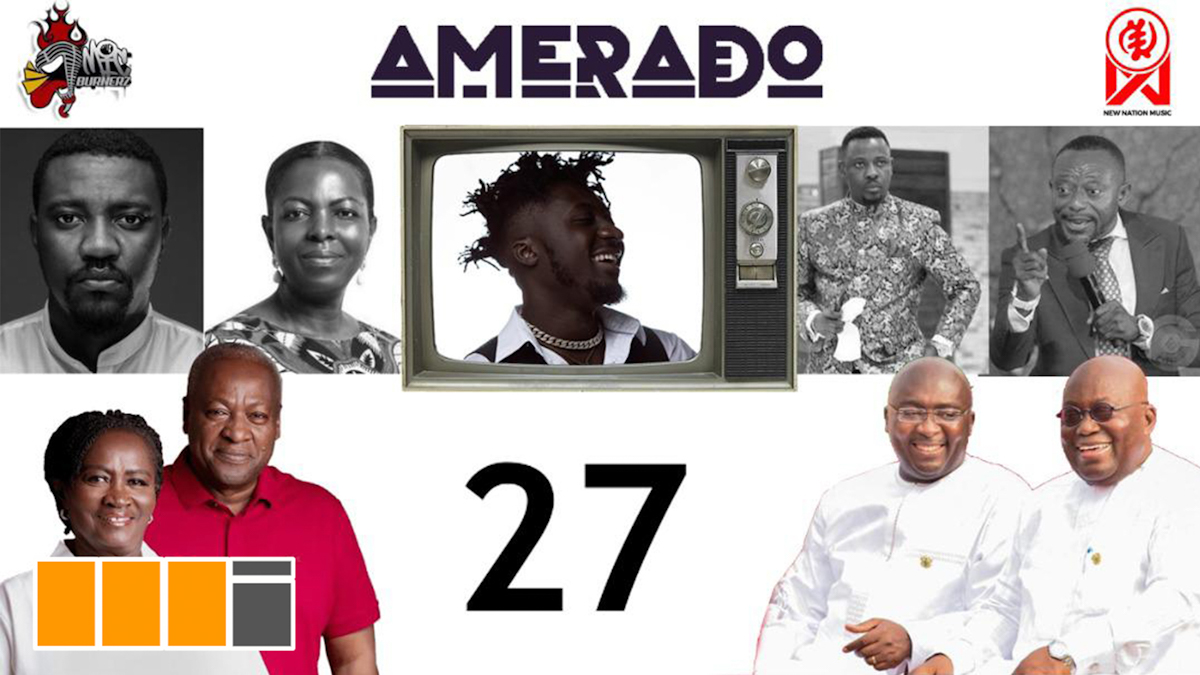 Amerado tackles Election 2020 on EP. 27 of Yeete Nsem