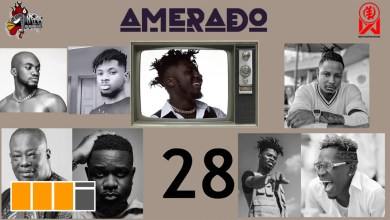 Mr Drew, Kwesi Arthur feature on Amerado's Yeete Nsem EP. 28