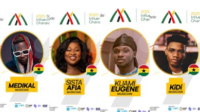 Sista Afia, Medikal, KiDi, Kuami Eugene, listed among top 100 African Musicians & 2020 50 Most Influential Young Ghanaians!
