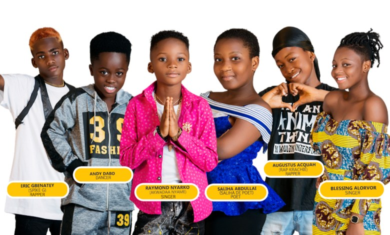 Meet the finalists for the 2021 Talented Kidz