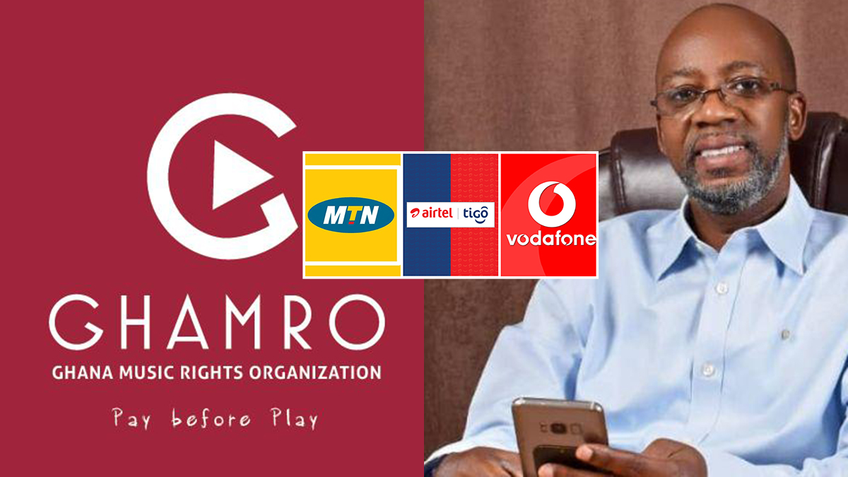 MTN, Vodafone & AirtelTigo to collectively pay Gh₵ 180,000 to GHAMRO!