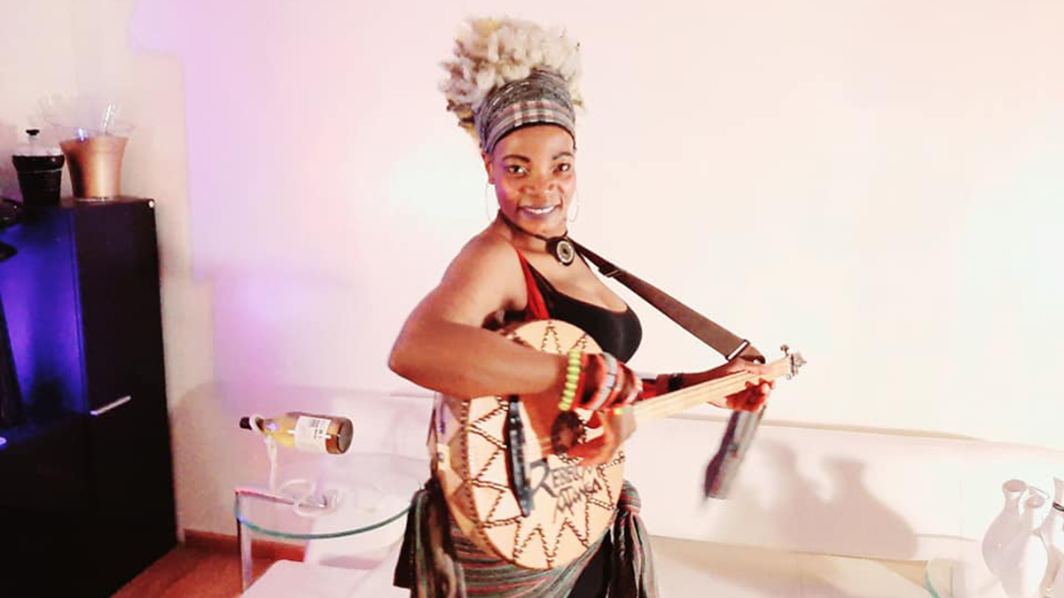 Rebecca Atanga: The world's first female Kologo player from Northern Ghana