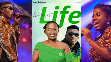 Diana Hamilton deepens anticipation of her next release featuring Kofi Kinaata!