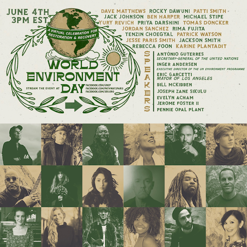 Rocky Dawuni to feature on World Environment Day Concert