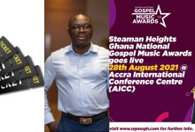 2021 Steaman Heights GNGMA early bird tickets available online but in physical stores from July 30 - Peter Kwabena Dwobeng, CEO