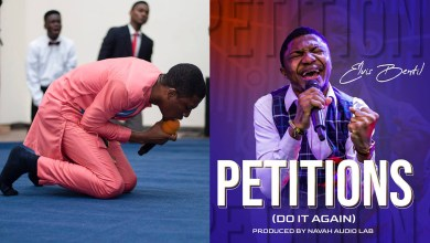 Petitions! Elvis Bentil unleashes a desperate cry unto God in latest single