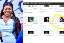 Piesie Esther's 'WOBƐDI ADANSEƐ' debuts at #19 in UK's top 200 Christian & Gospel songs chart