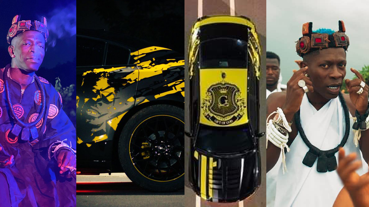 Botoe! Shatta Wale makes bold statement with latest audiovisual & newly branded whip