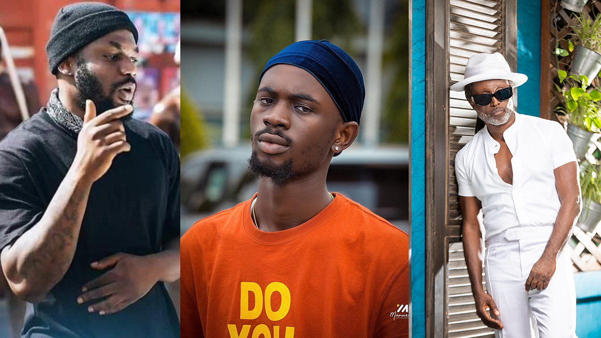 This is a Golden combo, no doubt y'all! - Reggie Rockstone reacts to Omar Sterling & Black Sheriff in Killbeatz' studio