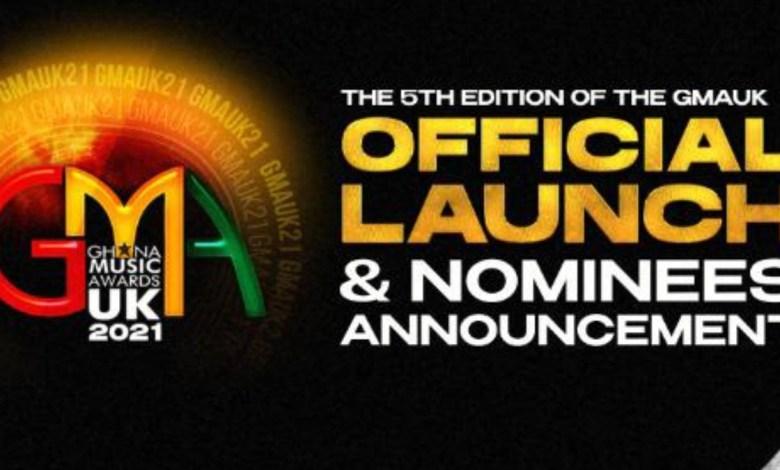 List of nominees - Ghana Music Awards UK 2021