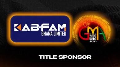 Kab-Fam are title sponsors of Ghana Music Awards UK 2021