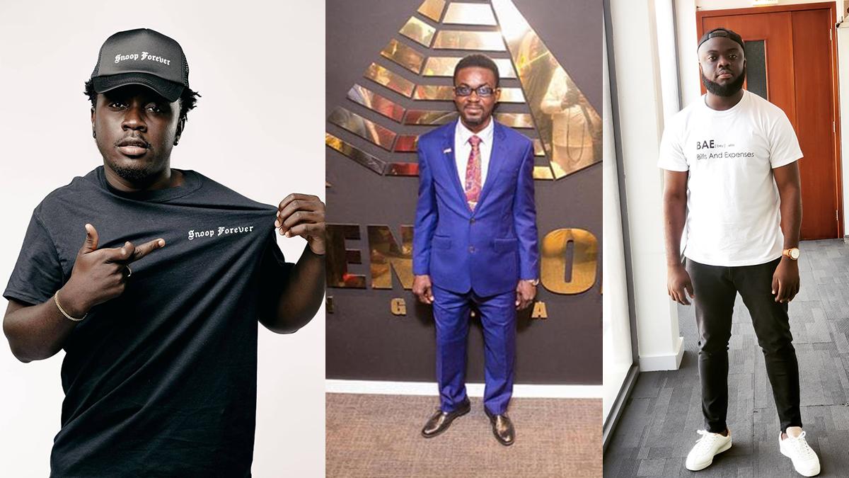 Amerado-Obibini rap feud: Tempers flare between Kweku Smoke & Kwadwo Sheldon; Nam 1 comments