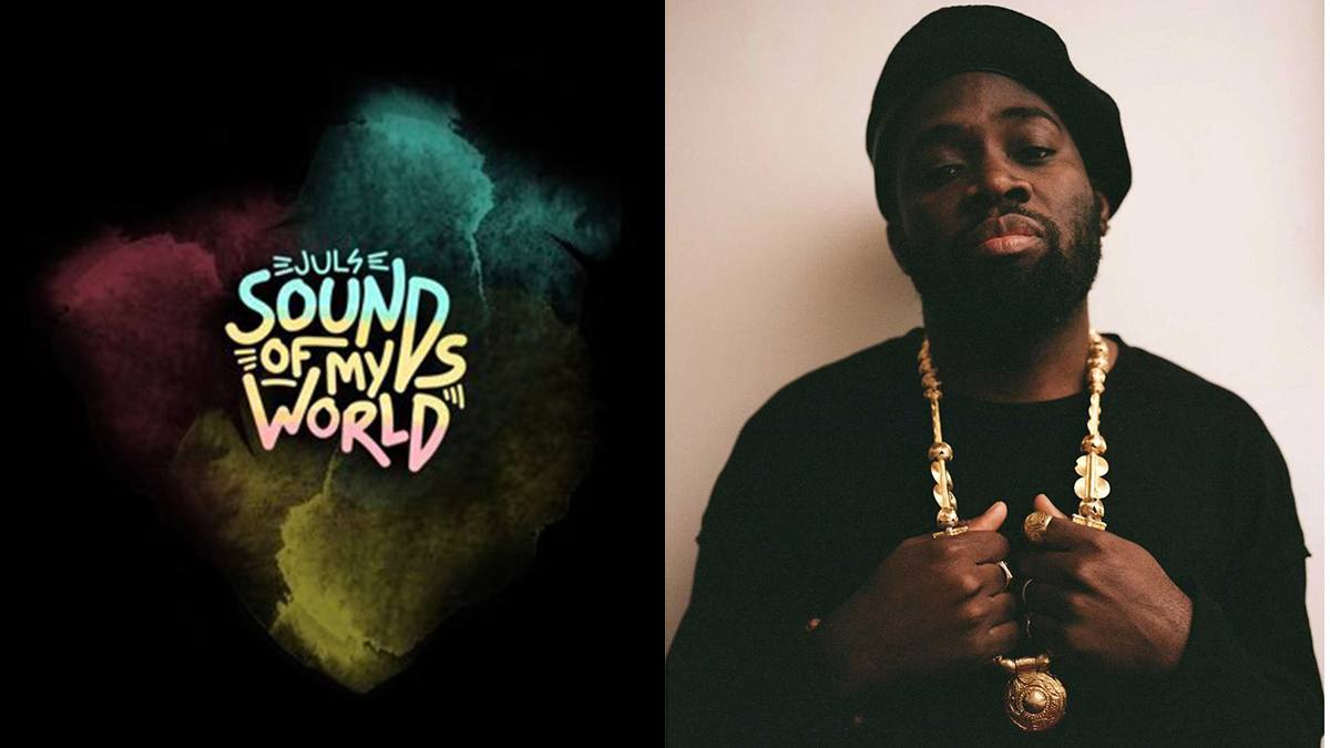 Juls unveils tracklist & features on upcoming debut album; Sounds of My World