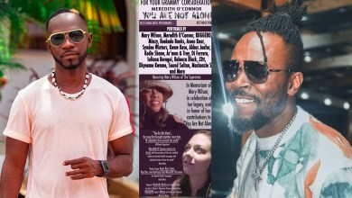Kwaw Kese & Okyeame Kwame-assisted 'You Are Not Alone' project by Meredith O'Connor pitched for Grammys