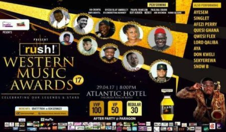 All Set For Rush Western Music Awards This Saturday - April 29