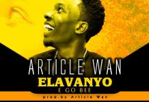 Article Wan - Elavanyo (Prod. By Article Wan)