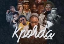 Edem - Kporda (Remix) (Feat. Magnom, Kwaw Kesse, Amerado, Laylow, Joel, Fareed, Kev, Kula, Kojo Cue, Obibini, Akan & Strongman) (GhanaNdwom.com)